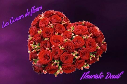 coeurs de fleurs deuil - ENVOYER DES FLEURS POUR UN DEUIL